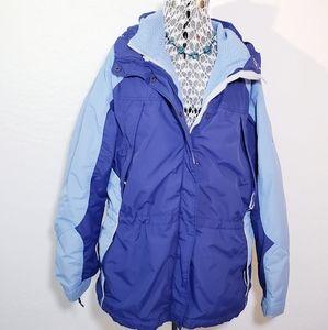 Womens Columbia 2 in 1 Jacket Coat